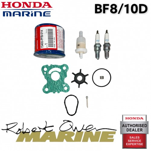 Honda Marine 8/10hp Outboard Engine Service Kit - BF8/10D