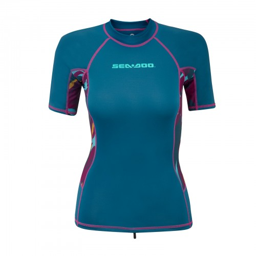 Seadoo Ladies Exotic Short Sleeve Rashguard